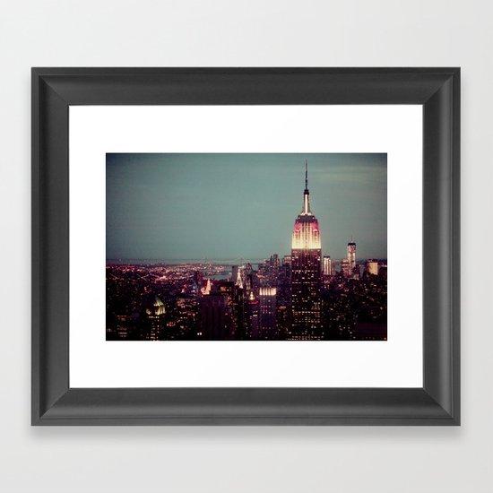 Empire State Framed Art Print