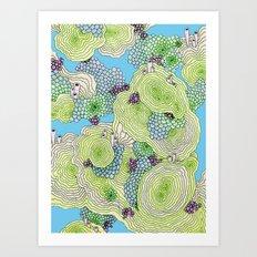 Reef #3.5 Art Print