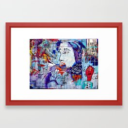 Stations of the Crass Framed Art Print