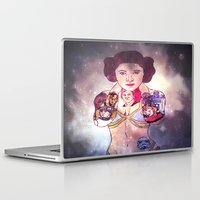 leia Laptop & iPad Skins featuring Leia by Artistic