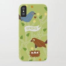 4 Seasons - Spring iPhone X Slim Case