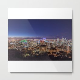 Montreal Night Moves Metal Print