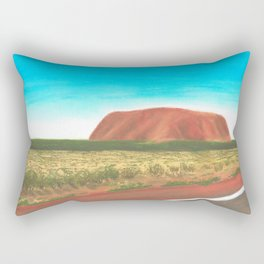 Australian Landscapes - Uluru Rectangular Pillow