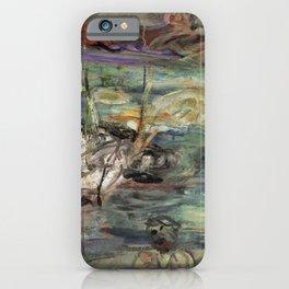 Kida Kinjiro - Drift Ice (1957) iPhone Case