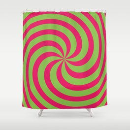 Color Swirl II Shower Curtain