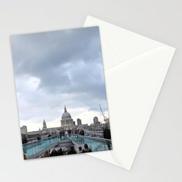 millenium bridge Stationery Cards