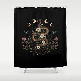 Serpent Spell Shower Curtain