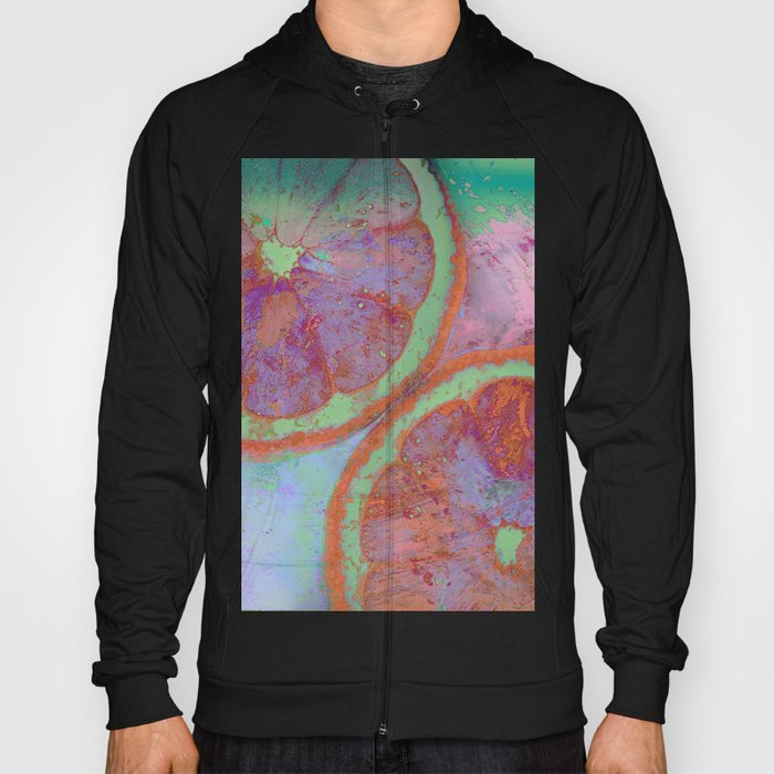 Summer Lemon (This Artwork is a collaboration with the talented artist Agostino Lo coco) Hoody