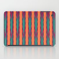 knitting iPad Cases featuring Knitting Flames by VessDSign