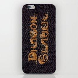 Dracoserific Dragon Slayer iPhone Skin
