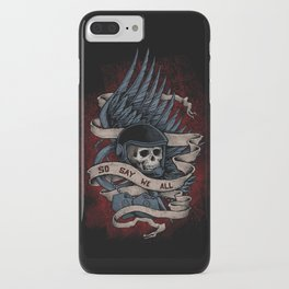 So Say We All iPhone Case