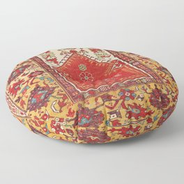 Milas Southwest Anatolian Niche Rug Print Floor Pillow