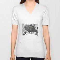 Hungry Fish Unisex V-Neck