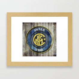 F.C. Internazionale Milano - Inter Framed Art Print