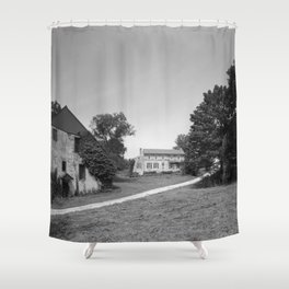 Mill Tract Farm, PA 1958 Shower Curtain