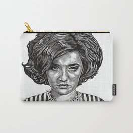 Big Hair Texas Trouble Carry-All Pouch