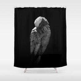 Pink and grey galah Shower Curtain