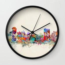 winnipeg canada skyline Wall Clock