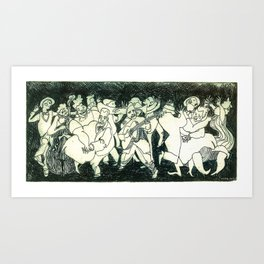 Swing - Cristina Curto Art Print