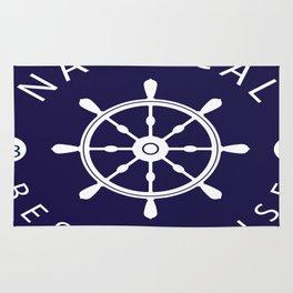 ship rudder Rug