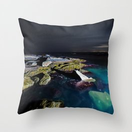 Mauve Blanket Throw Pillow