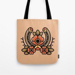 Horseshoe Tattoo Tote Bag
