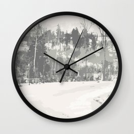 Once upon a time -winter Wall Clock