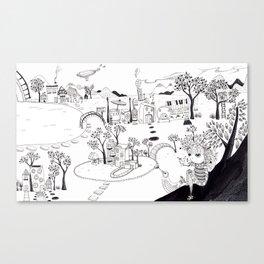 My own Wonderland... Canvas Print