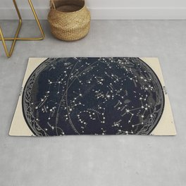 Constellation Chart Rug