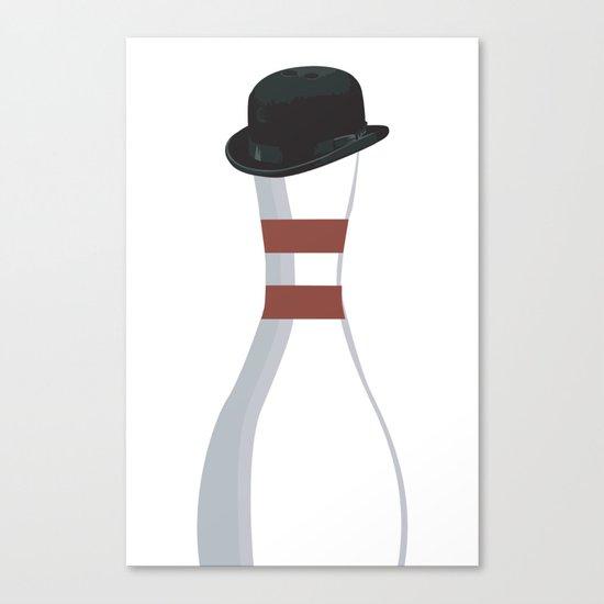 bowler. Canvas Print