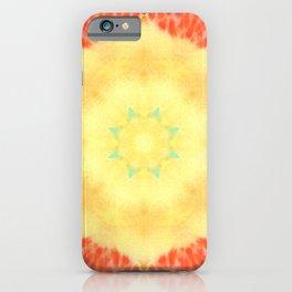 Indian sun, watercolor iPhone Case