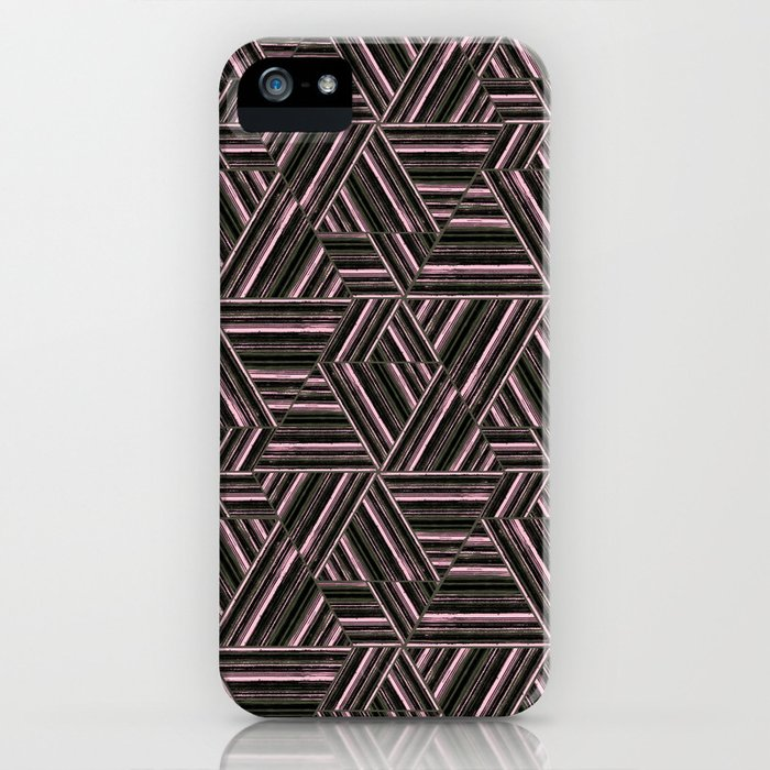 Abstract striped pattern. 2 iPhone Case