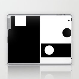 Minimal Black and White Laptop & iPad Skin