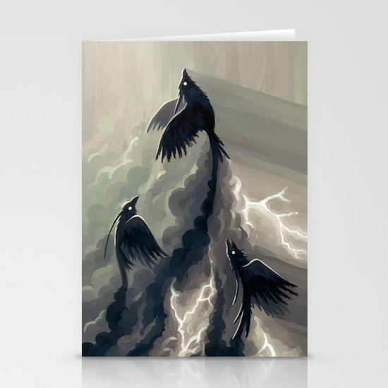 Stormbringers Stationery Cards