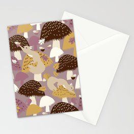 Fall Acorn Hunt Stationery Cards