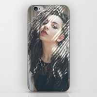 charli xcx iPhone & iPod Skins featuring Superlove ~ Charli XCX by Michelle Rosario