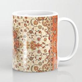 N71 - Orange Antique Heritage Traditional Moroccan Style Mandala Artwork Coffee Mug