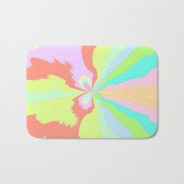Rainbow Butterfly Bath Mat