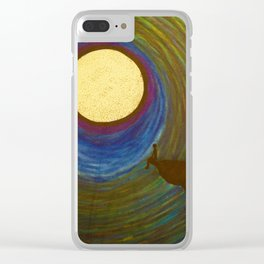 Night side Clear iPhone Case