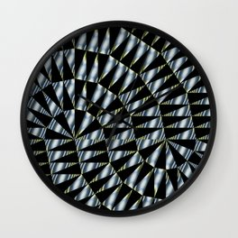 Triple Ts Fractal Wall Clock
