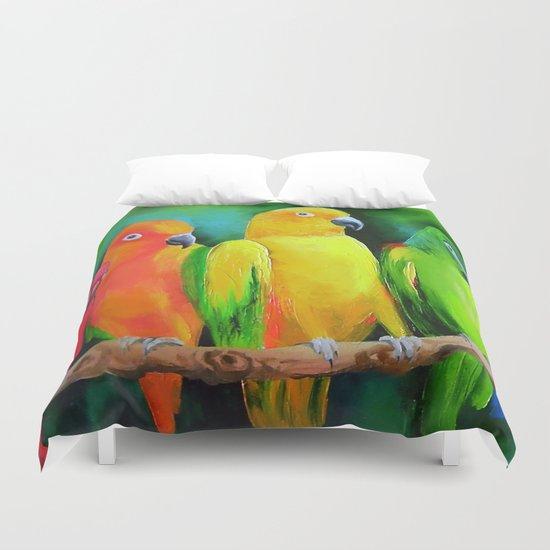 Parrots Australia Duvet Cover