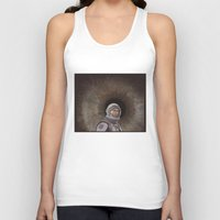 interstellar Tank Tops featuring INTERSTELLAR by zinakorotkova