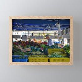 Farmers Market Framed Mini Art Print