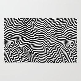 Op Art Stripes Rug