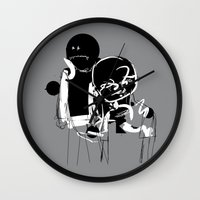the neighbourhood Wall Clocks featuring KIDS AREN´T ALRIGHT by sergio yamasaki