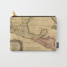 Map Of Central America 1656 Carry-All Pouch