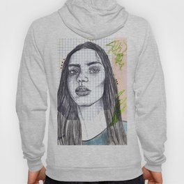 Mixed Media Sketch Hoody