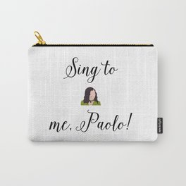 SING TO ME, PAOLO! Lizzie McGuire Carry-All Pouch