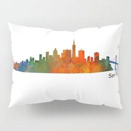 San Francisco City Skyline Hq v1 Pillow Sham