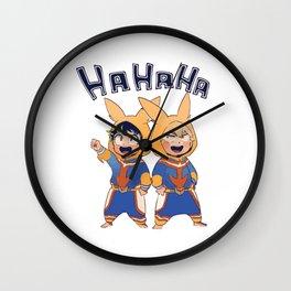 Boku no Hero - HaHaHa Wall Clock